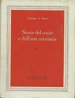 STORIA DEL CUOIO E DELL'ARTE CONCIARIA-GIUSEPPE A. BRAVO- 1996