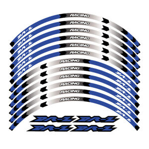 "FOR SUZUKI DRZ DR-Z 400SM 2005-2021 RIM ""17 STRIPES WHEEL DECALS TAPE STICKERS"