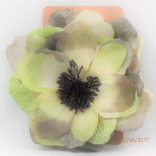 Babyliss Ladies Hair/Suit/Hat Brooch/Fascinator Type Clip on Flower Free P&P