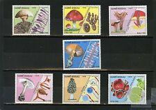 GUINEA-BISSAU 1988 Sc#765-771 FLORA MUSHROOMS SET OF 7 STAMPS MNH