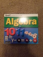 Snap Algebra Cd Ages 11–15 Dual Platform Mac Pc Cd Rom