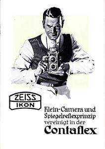 Zeiss Ikon Contaflex Brochure - 1936