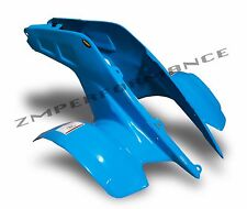NEW HONDA TRX 250R 86 - 89 ELECTRIC BLUE PLASTIC STANDARD FRONT FENDER TRX250R