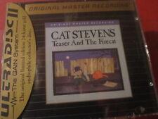 "MFSL-UDCD 649 CAT STEVENS ""TEASER AND FIRECAT"" (MFSL-GOLD-CD/USA/FACTORY SEALED)"
