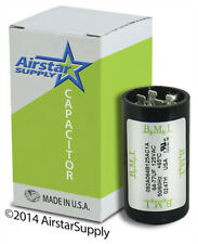 64-77 MFD uf 110-125 VAC Round Electric Motor Start Capacitor • Made in USA