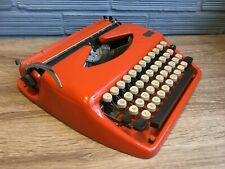 Vintage Typewriter Triumph Adler Tessy Portable Working Mid Century Design