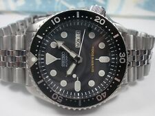 SEIKO SCUBA DIVERS SKX007 AUTO MENS WATCH 7S26-0020, BLACK/PATINA (SN 707860)