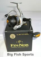 FIN-NOR LETHAL 30 INSHORE Spinning Reel #LT30 FREE USA SHIP! NEW! 5.2:1 Ratio