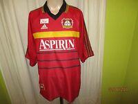 """Bayer 04 Leverkusen Original Adidas Heim Trikot 1998/99 """"ASPIRIN"""" Gr.XXL"""