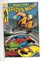 Amazing Spider-Man #81 VF/NM 9.0 1ST APP KANGAROO! 1970 WHITE PAGES! 129 121 14