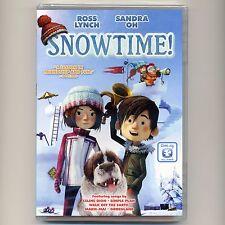 Snowtime 2016 PG animated family movie, new DVD Dove Christmas, dog, Celine Dion