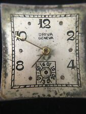 Mens Watch Movement Driva Geneva Watch Company Swiss 17 Jewels Geneva Dial