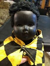 Rare Antique Convert & Company Celluloid African Doll