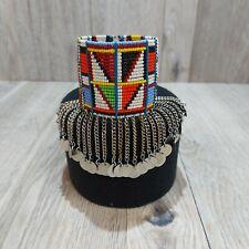 South African Maasai Zulu woman's beaded bracelet
