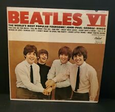 Vintage THE BEATLES LP RECORD BEATLES VI CAPITOL ORIGINAL MONO T-2358 VINYL
