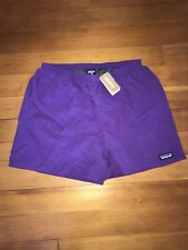 Patagonia 5 Inch Baggies Men's XL Shorts Purple Brand New NWT