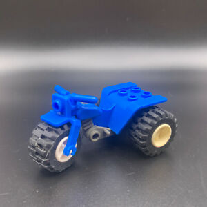 LEGO Blue Minifigure Tricycle / Motorcycle