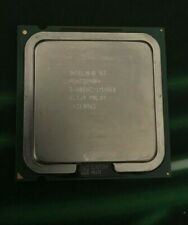 Intel Pentium 4 3.60 Ghz 1M/800Mhz Cpu - For Parts - Free Shipping