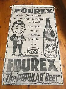Huge xxxx man cave flag wall hanging fourex beer manave Ideas collectable sign