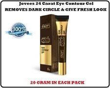 10 PACK OF JOVEES 24 CARAT GOLD EYE CONTOUR GEL REMOVES DARK CIRCLE (20 GRAM)