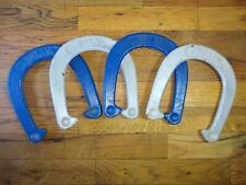 4 Royal Horseshoes Professional Pitching Lawn Game Character Old Patina Vintage