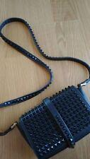 Zara cloutées Messenger Pochette Sac en bleu
