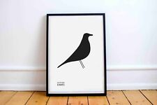 Eames House Bird Poster | Print A3 MidCentury Modern