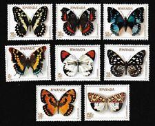 Rwanda Butterflies 8v MNH SG#911-918 SC#905-912