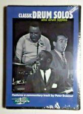 """Classic Drum Solos And Drum Battles"" - 15 True Legends Of Jazz Drumming -Dvd"