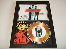 DEPECHE MODE    SIGNED  GOLD CD  DISC