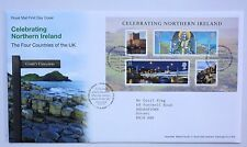 GREAT BRITAIN FIRST DAY COVER CELEBRATING NORTHERN IRELAND MINIATURE SHEET 2008
