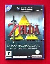 Zelda: Collector's Edition  - Disco promocional con 4 juegos - GAMECUBE - NUEVO