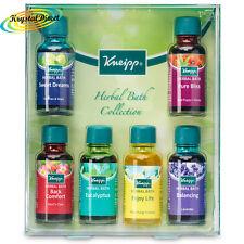 Kneipp Herbal Bath Oil Collection Gift Set 6 x 20ml Inc Lavender, Eucalyptus