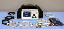 Zoll SERIE E 12 Cable bifásico SPO2 NIBP etCo2 RITMO AED Capnostat Bluetooth