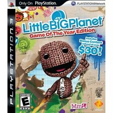Littlebigplanet PS3 PlayStation 3 Little Big Planet Very Good 0Z
