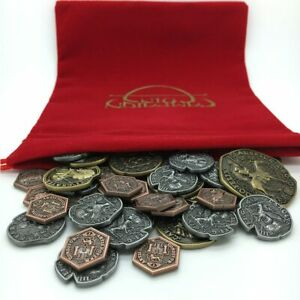 KING'S RANSOM: BOARD GAME COIN SET colonial renaissance metal Campaign Coins