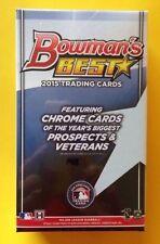2015 Bowman's Best HOBBY Mini-Box Sealed 2 Auto (Kris Bryant Mike Trout Chrome)?