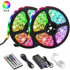 LED Strip Lights,32.8ft/10M Waterproof IP65 RGB, 44 Keys IR Remote Controller