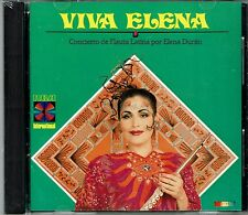 Elena Duran  Viva Elena  Concierto de Flauta     BRAND NEW SEALED CD