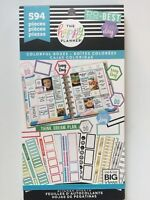 Create 365® The Happy Planner® Colorful Boxes Sticker Sheets Value Pack 594 NEW