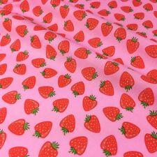 Rosa Fresa Tela 100% algodón, 54 pulgadas de ancho 100% Algodón Por Metro Medio
