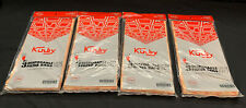 4 Bags Of 3 VACUUM BAGS, GENUINE KIRBY-STYLE No 2, Part 19068103