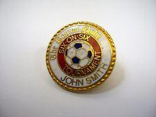 Vintage Collectible Pin: The Boston Globe Six on Six Soccer Tourney John Smith