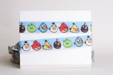 """ANGRY BIRD 7/8"""" Grosgrain Ribbon 1,3,5,10 Yards SHIP FROM USA HAIRBOW"""