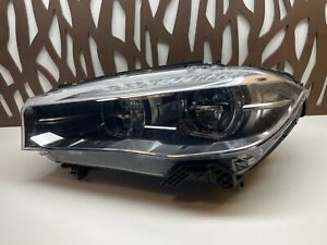 2015 2016 2017 2018 BMW X5 X6 FACTORY OEM LEFT DRIVERS LED HEADLIGHT