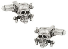 Skull & Crossbone Cufflinks Direct from Cuff-Daddy