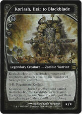 TCG 64 MtG Magic the Gathering Korlash, Heir to Blackblade Pre Release Promo