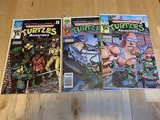 Eastman and Laird's Teenage Mutant Ninja Turtles Adventures 1-3 1988 Mini-Series