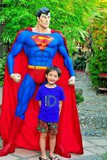 SUPERMAN COMIC BOOK VERSION Custom Statue Life Size FINET SCULPTURE ARTS