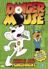 DANGER MOUSE RHYME AND PUNISHMENT - BRAND NEW/SEALED ALL REGION DVD (7 EPISODES)